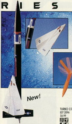 Manta from 1994 Estes Catalog